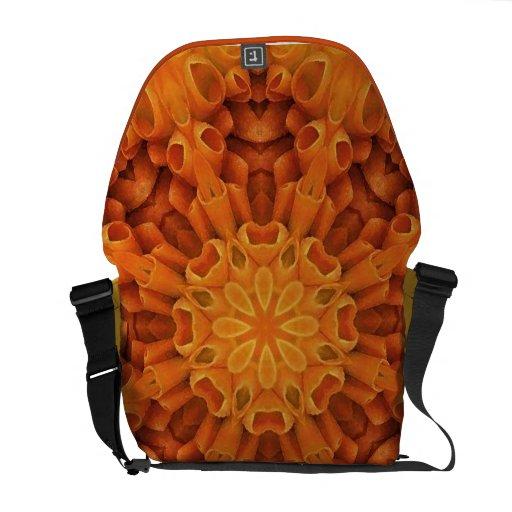 Mandala 48 de la flor de la bolsa de mensajero bolsas de mensajería