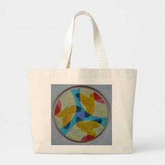 Mandala 4 canvas bags