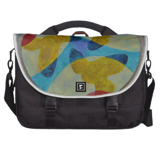 Mandala 4 laptop messenger bag