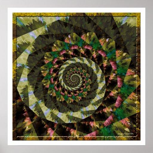 Mandala 4 póster