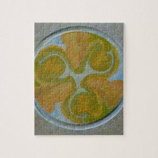 Mandala 8 Round Abstract Painting Jigsaw Puzzle