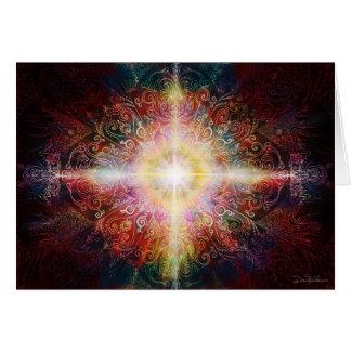 Mandala 9 2012 tarjeta de felicitación