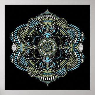 Mandala #9 - Poster