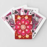 Mandala Abstract Art Playing Cards