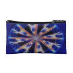 mandala abstract cosmetic bag