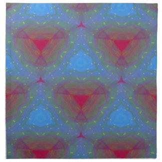 Mandala abstracta de la servilleta