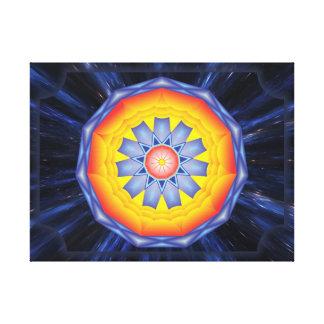 Mandala Acesso Impressão Em Canvas