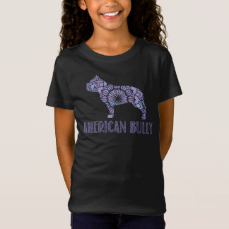 Mandala American Bully T-Shirt Girls