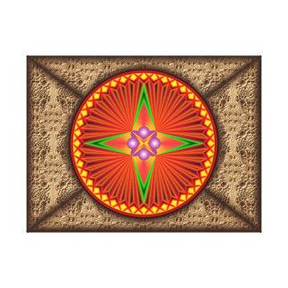 Mandala Amun - Impressão em Canvas