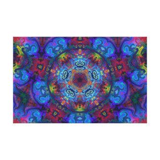 Mandala Art Abstract Design Canvas Print