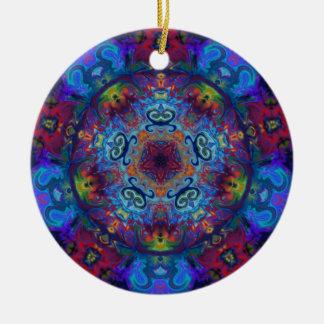 Mandala Art Abstract Design Ceramic Ornament