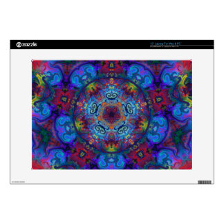 """Mandala Art Abstract Design Decals For 15"""" Laptops"""