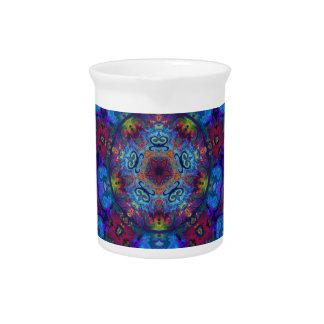 Mandala Art Abstract Design Drink Pitchers