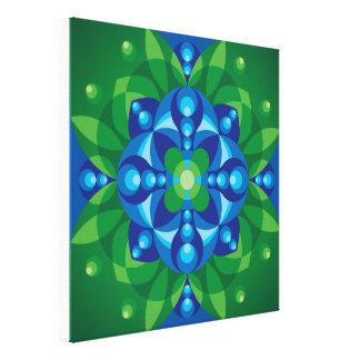 Mandala Awakening Canvas Print