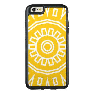 Mandala azteca del adorno en OtterBox amarillo de Funda Otterbox Para iPhone 6/6s Plus