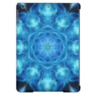 Mandala azul de Nova Funda Para iPad Air