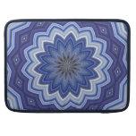 Mandala azul funda macbook pro