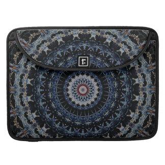 """Mandala azul Macbook favorable 15"""" Funda Para Macbook Pro"""