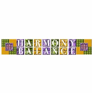 Mandala Balance, Harmony Photo Sculpture Keychain