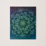 Mandala bendecida de la lluvia puzzle con fotos