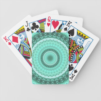 Mandala Bicycle Playing Cards