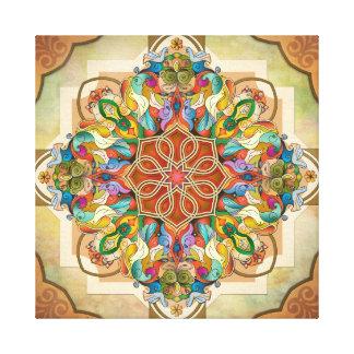 Mandala Birds Canvas Print