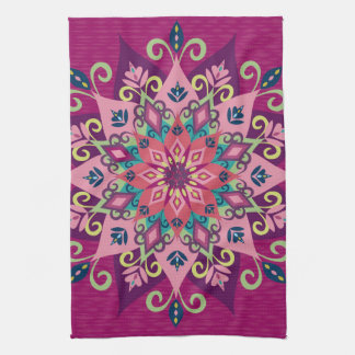 Mandala Bloom Towel