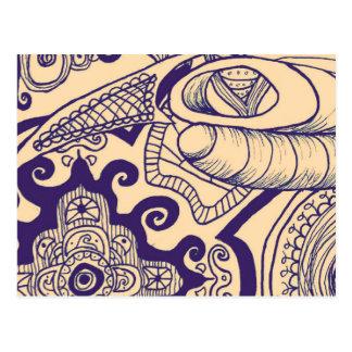 Mandala bohemia postales