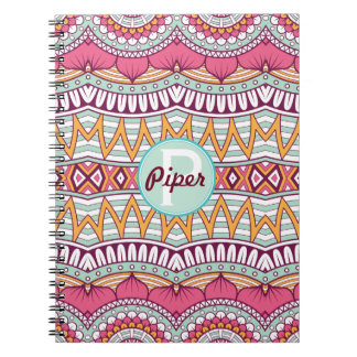 Mandala Boho Multi-Colored Pattern | Notebook