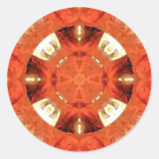 Mandala 'Bombay' Classic Round Sticker