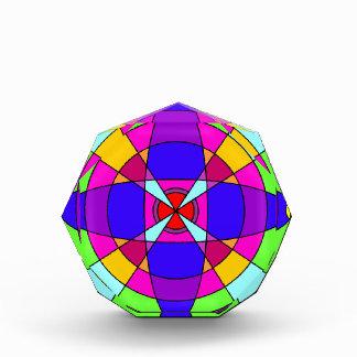 Mandala brillante del caleidoscopio