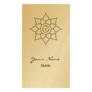 Mandala Double-Sided Standard Business Cards (Pack Of 100)