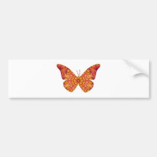 Mandala Butterfly20 Pegatina Para Auto
