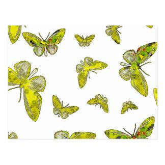 Mandala butterfly5.jpg tarjetas postales