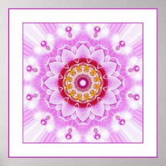 Mandala (C) from Radiant Orchid Closeup Photo Print