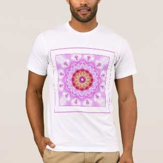 Mandala (C) from Radiant Orchid Closeup Photo T-Shirt