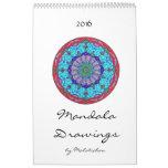 Mandala Calendar 2016 (drawings)