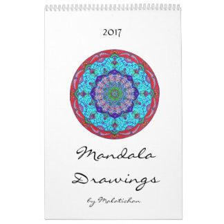Mandala calendar 2017 (designs)