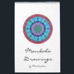 "Mandala calendar (designs) wall calendars<br><div class=""desc"">See more products with my Mandalas in my shop: https://www.zazzle.com/Malatichan*</div>"