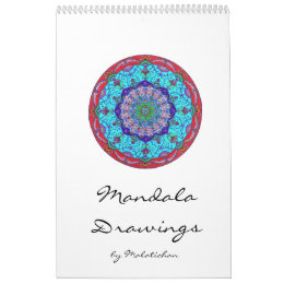 Mandala calendar (designs) wall calendars