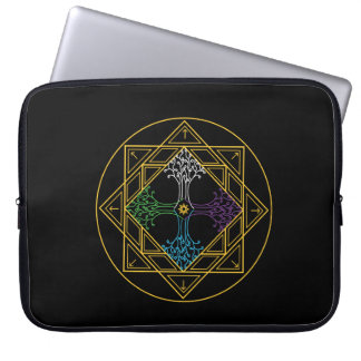 Mandala Case - Expansion Laptop Computer Sleeve