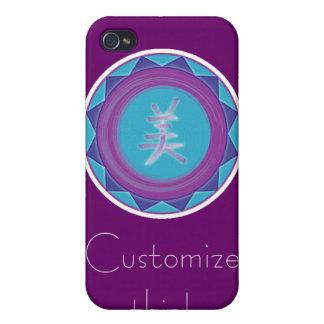 Mandala - caso del iPhone 4 de la belleza iPhone 4 Cárcasas