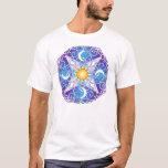 Mandala celestial playera