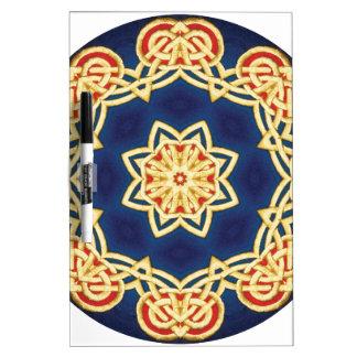 Mandala céltica pizarra