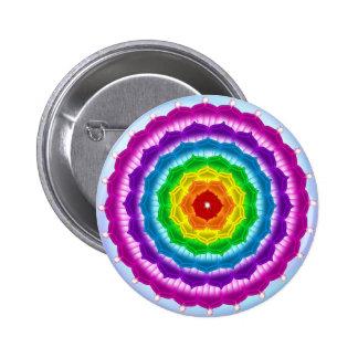 Mandala Chakra Button