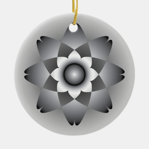 Mandala Christmas Tree Ornament