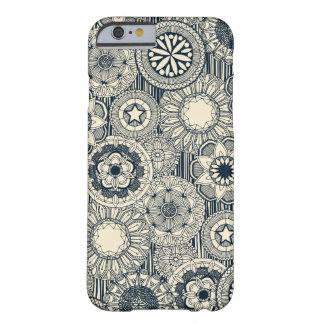 mandala cirque indigo cream barely there iPhone 6 case