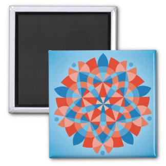 Mandala Cognition Refrigerator Magnet