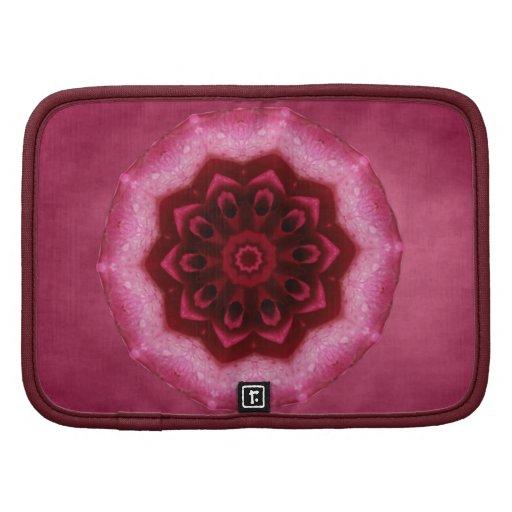 Mandala color de rosa organizador