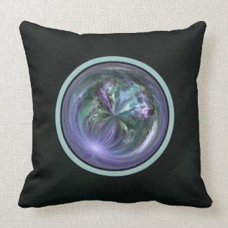Mandala, Colorful Spring Brush Stroke Abstract Pillows